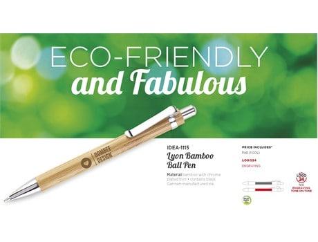 Bamboo Ballpen Environmentally Friendly Ideas