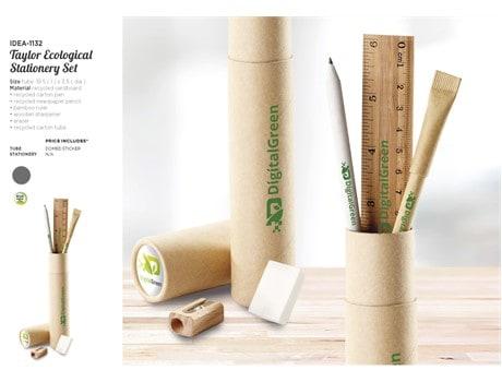 Eco Stationery Set Environmentally Friendly Ideas