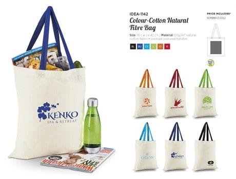 Cotton Natural Fibre  Bag Bags and Travel