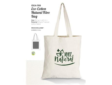 Eco-Cotton Natural Fibre Bag Bags and Travel