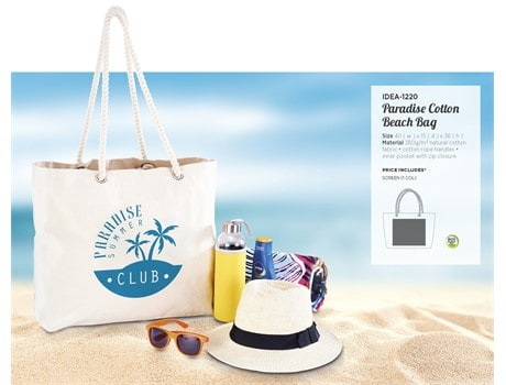 Paradise Cotton Beach Bag Bags and Travel