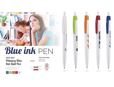 Primary Pen Blue Ink Back to School