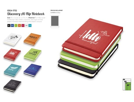 Discovery A6 Flip Journal N/A2