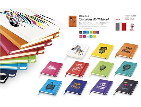 Discovery A5 Journal Giftsets