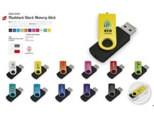 Flashback Black Memory Stick – 16GB