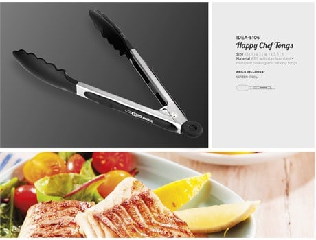 Happy Chef Kitchen Tongs Kitchen and Home Living