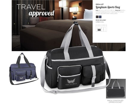 Langham Tog Bag Bags and Travel