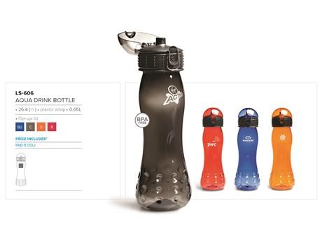 Aqua Water Bottle – 650ml Drinkware