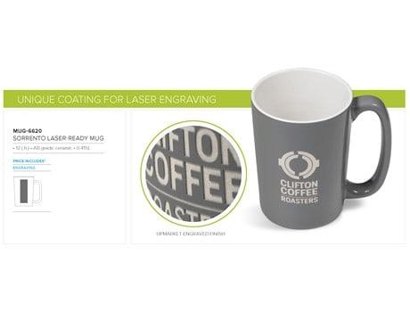 Sorrento Laser-Ready Mug – 415ml Drinkware