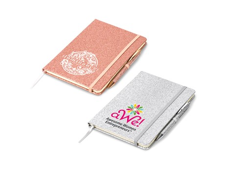 Sparkle A5 Notebook Gift Ideas for Her