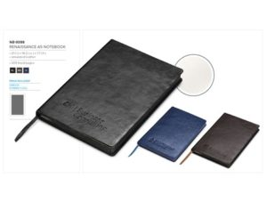 Renaissance A5 Notebook Notebooks and Notepads
