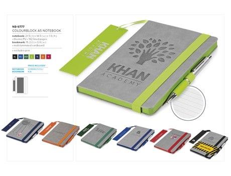 Colourblock A5 Notebook Notebooks and Notepads