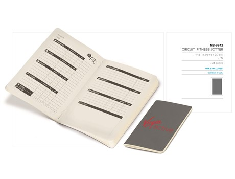 Circuit Fitness Jotter Giftsets