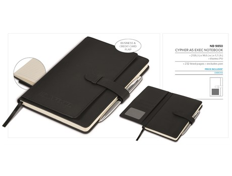 Cypher A5 Exec Notebook Notebooks and Notepads