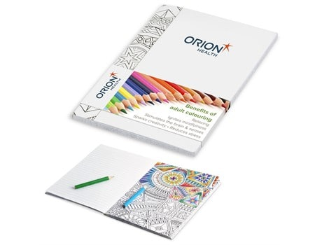 Unwind Adult Colouring Notebook COVID-19 Products
