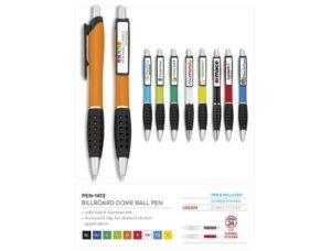 Billboard Dome Ball Pen