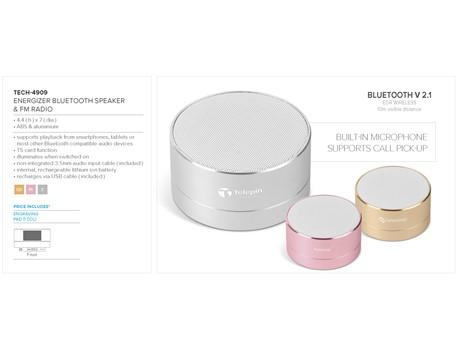 Energizer Bluetooth Speaker & Fm Radio Gift Ideas for Her