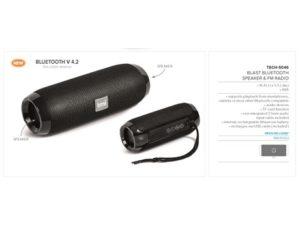 Blast Bluetooth Speaker & Fm Radio Technology