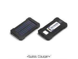 Swiss Cougar Rome Solar 8000mah Power Bank