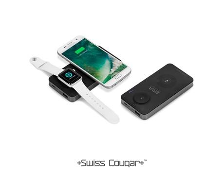 Swiss Cougar Barcelona 5000mah Wireless Power Bank Gift Ideas for Him