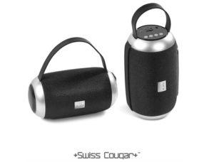 Swiss Cougar London Bluetooth Speaker & Fm Radio Name Brands