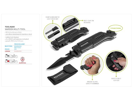 Warden Multi-Tool Gift Ideas for Him