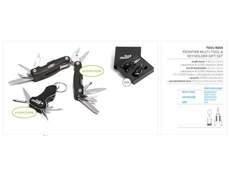 Frontier Multi-Tool & Keyholder Gift Set Gift Ideas for Him