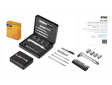 Stac 20-Piece Tool Set Tools and Knives