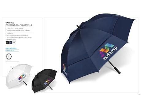 Torrent Golf Umbrella Beach and Outdoor Items