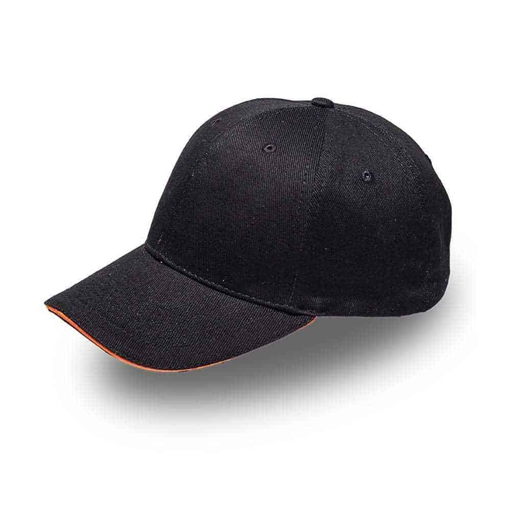 Sandwich Brushed Cotton Cap Headwear and Accessories
