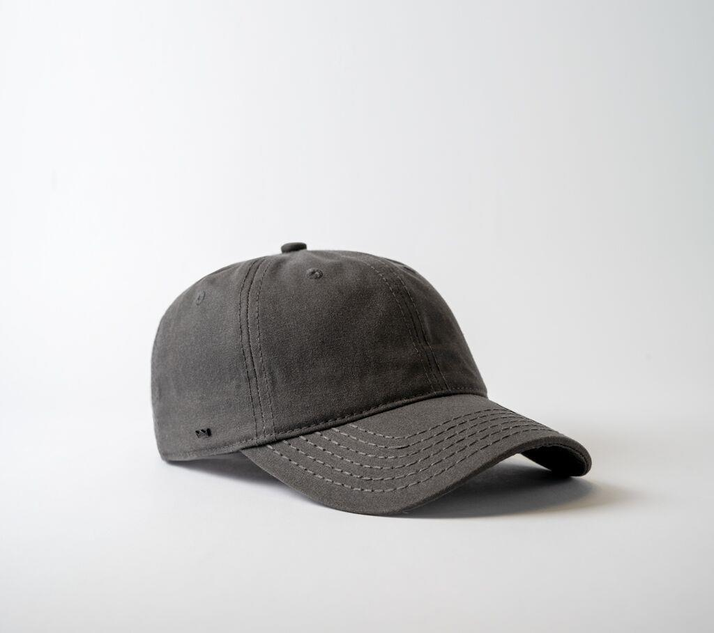 U15614 Waxed Cotton Canvas 6 Panel Adjustable Headwear and Accessories