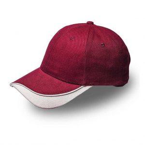 Brushed Cotton Razor Peak Cap