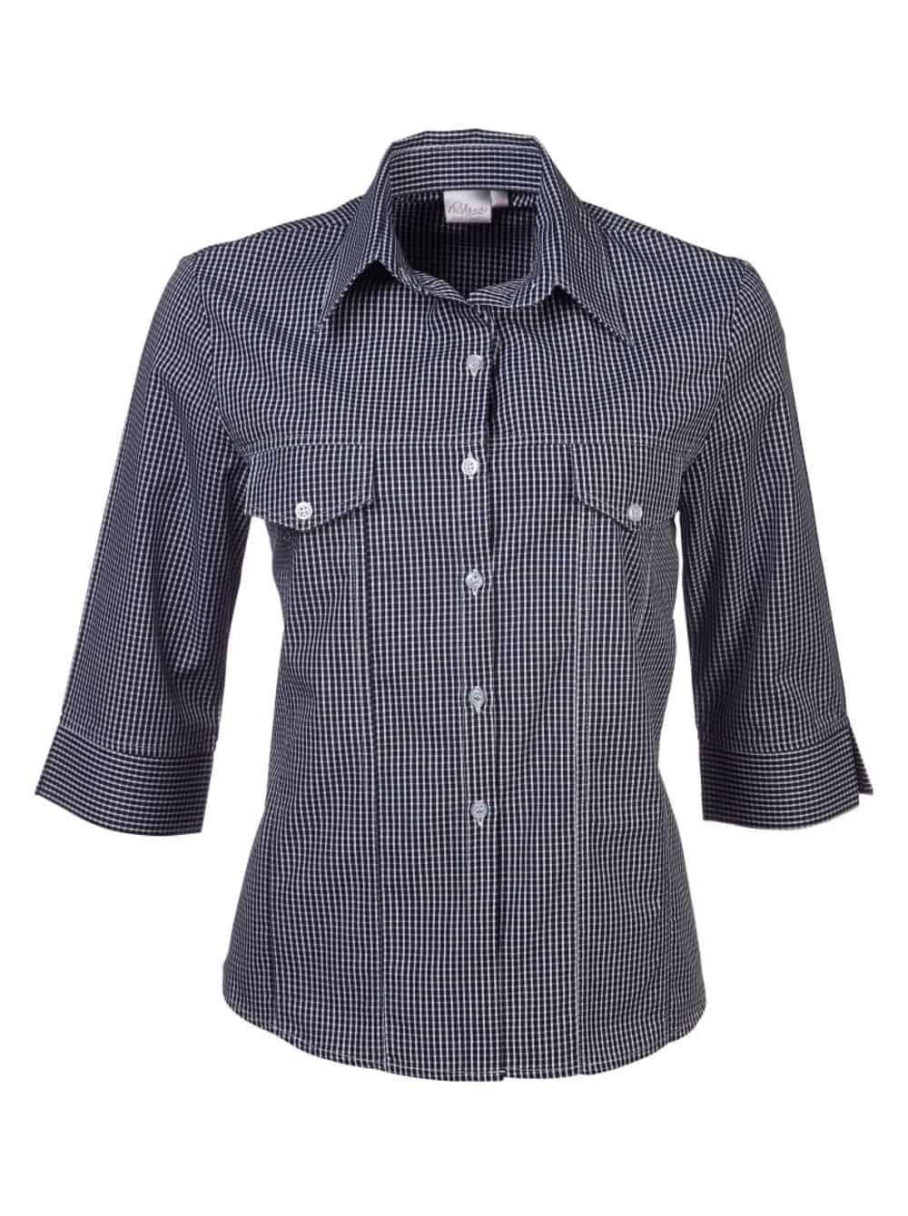 3/4 B12 Janine Blouse Lounge Shirts and Blouses