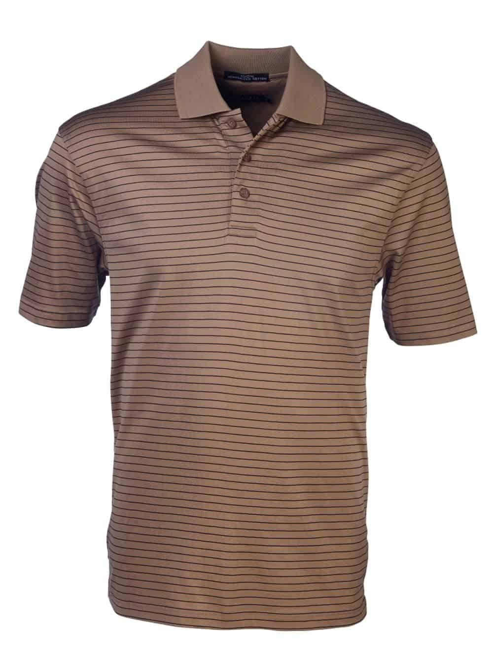 180G Double Mercerized Yarn Dyed Golfer Golf Shirts