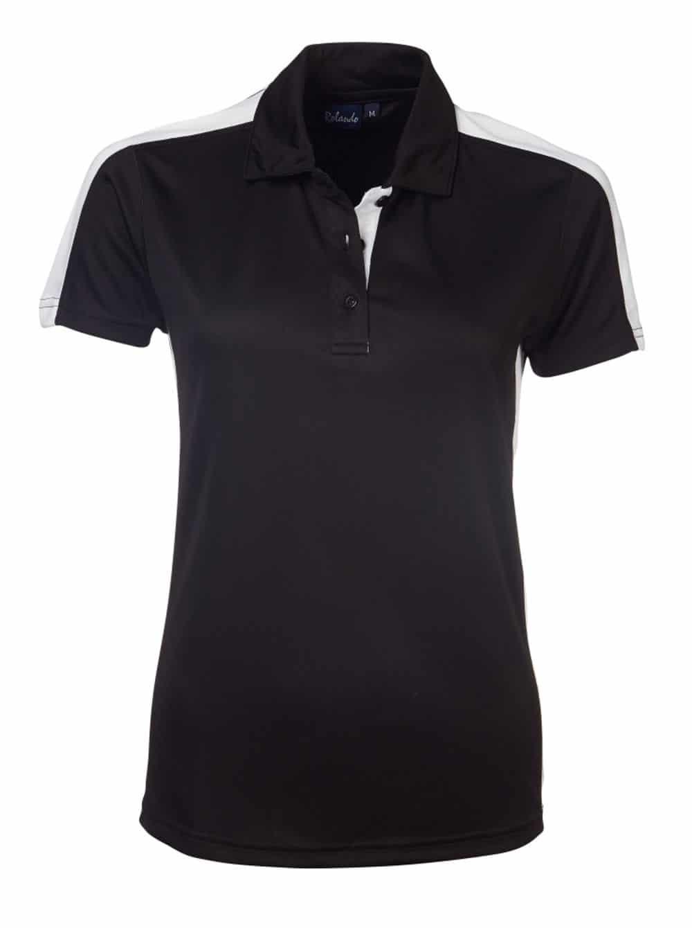 Ladies 100% Poly Chelsea Golfer Golf Shirts