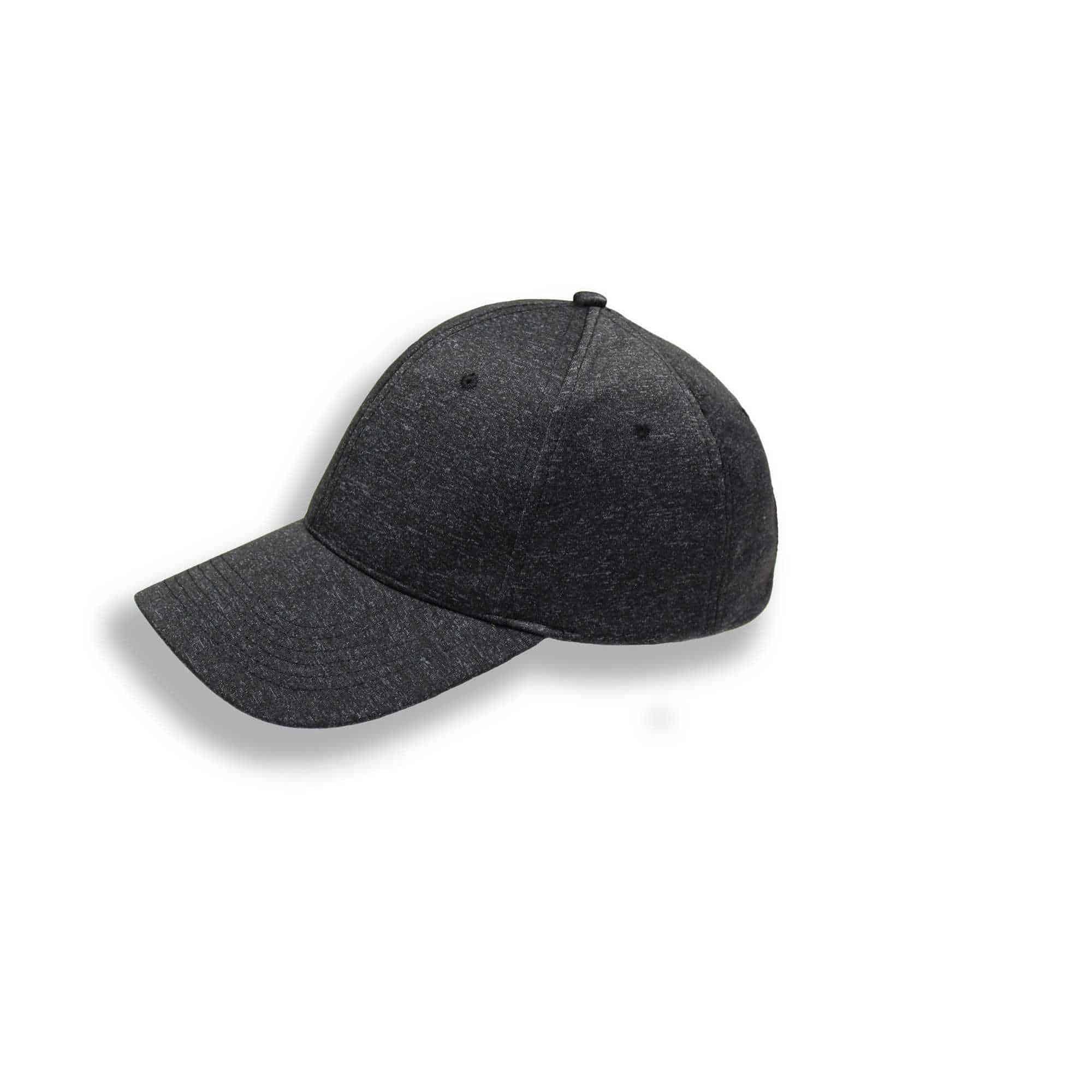 Velcro Enclosure 6 Panel Curved Peak Jersey Melange Headwear and Accessories