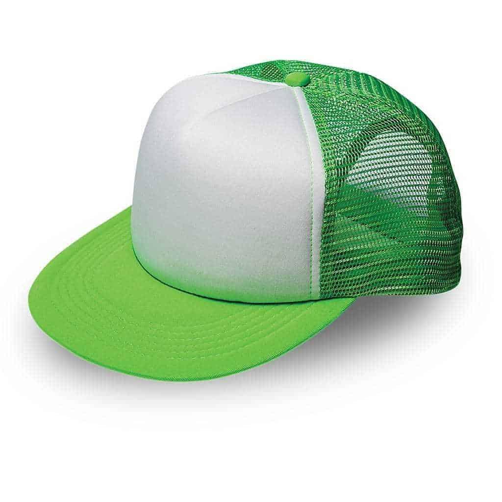 Foam Polysnap Flat Bill Headwear and Accessories