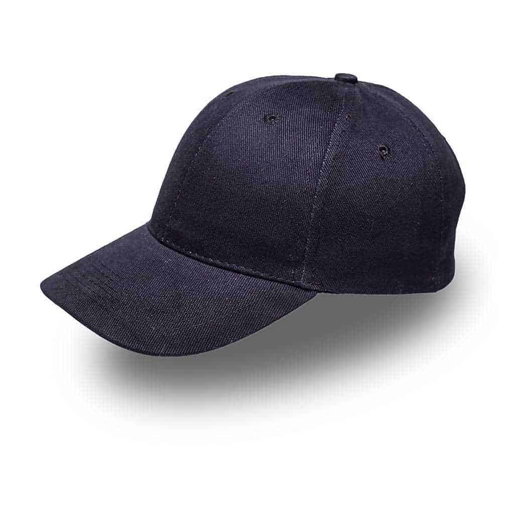 6 Panel Brushed Cotton Cap Headwear and Accessories