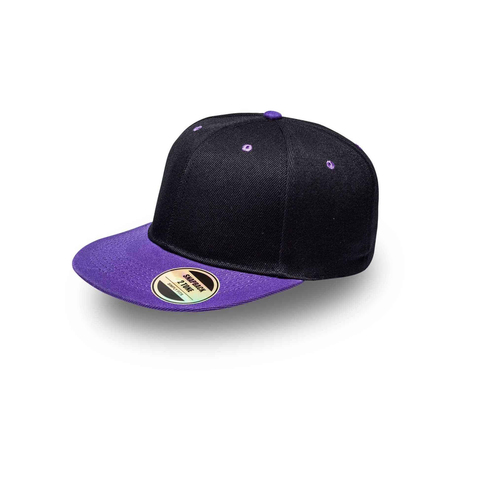 Snapback Two-Tone Headwear and Accessories