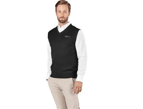 Mens Sleeveless Peru V-Neck Jersey Jackets and Polar Fleece