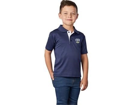Kids Tournament Golf Shirt Branded Kids Apparel