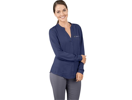 Ladies Long Sleeve Ava Blouse Lounge Shirts and Blouses