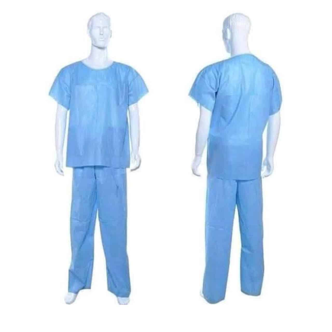 50 GSM Disposable Scrub Suit COVID-19 Products