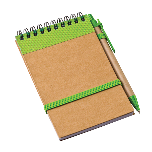 Eco Notebook with strap Eco-friendly Products