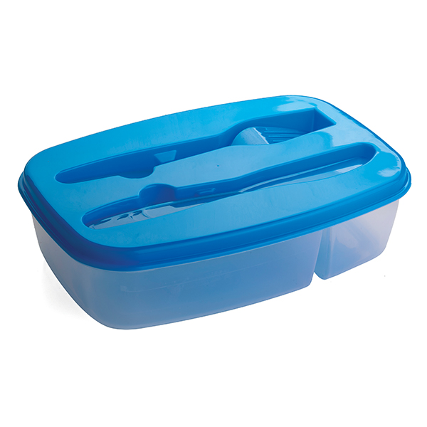 2 Section Food Container Kitchen and Home Living