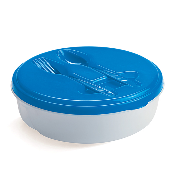 Food Container with fork and spoon Kitchen and Home Living