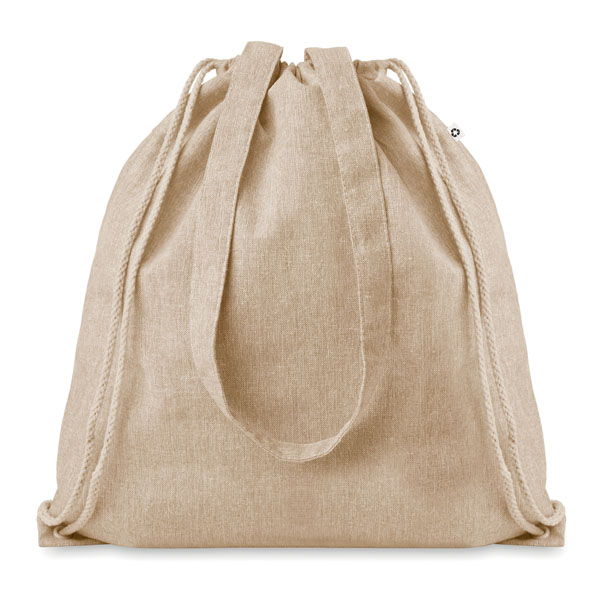 2 Tone Cotton String Bag Bags and Travel