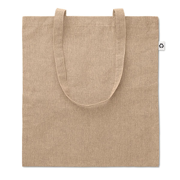 2 Tone Cotton Shopper Bags and Travel