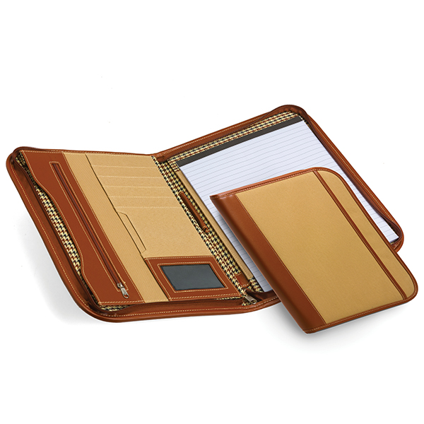 A4 Zip Portfolio Folder Stationery