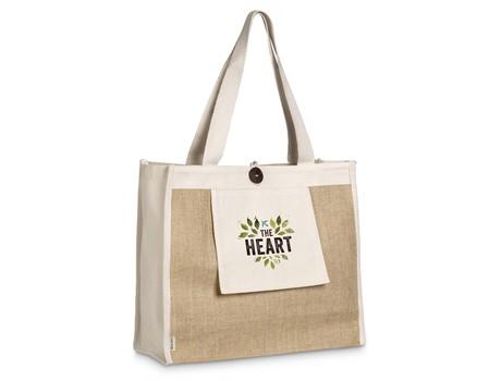 Okiyo Hikari Jute Tote Bags and Travel
